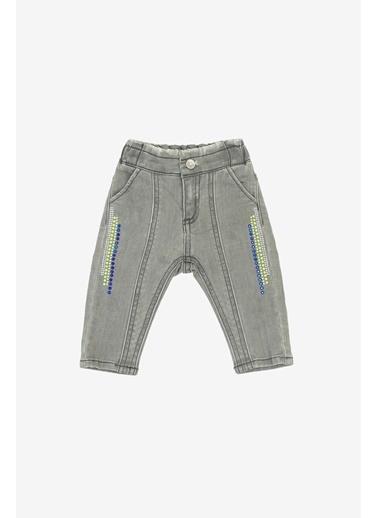 BG Baby Kız Bebek Jean Pantolon  Mavi